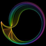 Brightly colored abstract Royalty Free Stock Images