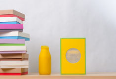 Brightly colored boxes for gifts Stock Photos