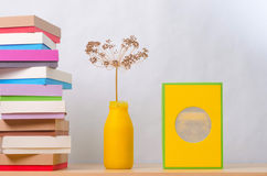 Brightly colored boxes for gifts Stock Image