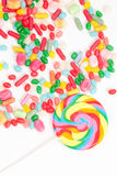 Colored candies Stock Image