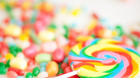 Colored candies Stock Photography
