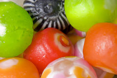 Brightly colored candy Royalty Free Stock Images