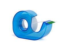 Brightly Colored Clear Tape Dispenser Stock Photography
