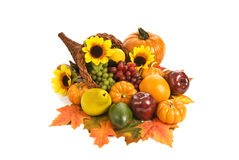 Brightly Colored Cornucopia Royalty Free Stock Photo