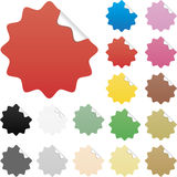 Brightly Colored Glossy Web Elements Sale Tags