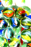 Brightly colored marbles Royalty Free Stock Photo