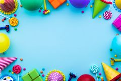 Brightly colored Party background Royalty Free Stock Photo