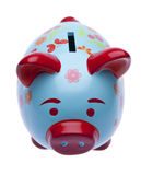 Brightly Colored Piggy Bank Stock Photography