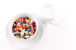 Brightly Colored Snack Royalty Free Stock Image