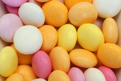 Brightly colored sweets. Bunch of round, sweet and brightly colored sweets Stock Image