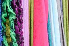 Brightly Coloured Fabric Royalty Free Stock Photo