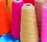 Brightly Coloured Yarn Royalty Free Stock Images