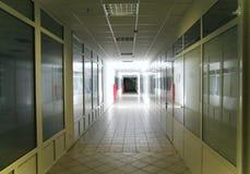 Brightly lit corridor Stock Photography