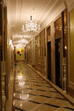 Brightly lit corridor Royalty Free Stock Photo