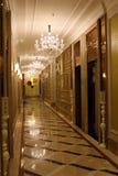 Brightly lit corridor Royalty Free Stock Photo