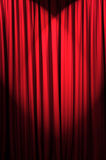 Brightly lit curtains - theatre concept. Brightly lit curtains in theatre concept Royalty Free Stock Images