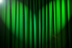 Brightly lit curtains - theatre concept. Brightly lit curtains in theatre concept Stock Photos