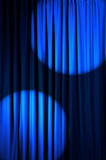 Brightly lit curtains -  theatre concept. Brightly lit curtains in theatre concept Stock Photography