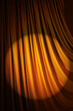 Brightly lit curtains -  theatre concept. Brightly lit curtains in theatre concept Stock Images