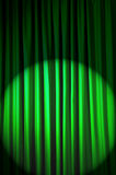 Brightly lit curtains - theatre concept. Brightly lit curtains in theatre concept Royalty Free Stock Photos