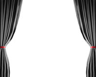The brightly lit curtains for your background Royalty Free Stock Images