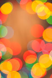 Brightly multycolored abstract bokeh Stock Photos