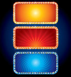 Brightly Neon Signs Stock Photos