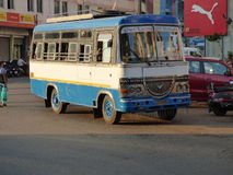 Brightly painted bus India. Stock Photography