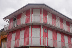 A brightly painted house Stock Photography