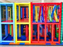 Colourful Children`s Play Equipment
