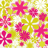Brightly Seamless floral pattern Royalty Free Stock Photo