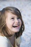 Brightly smiling child