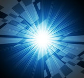 Brightness Background Means Brilliant Beams And Rectangles Royalty Free Stock Photography
