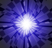 Brightness Background Means Star Ablaze And Rectangles Royalty Free Stock Photos