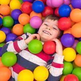Brightness of childhood. Megapolis entertainments for children. Happiness and brightness. Happy childhood concept stock photo