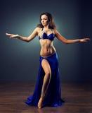 Brightness of dance. Bellydance. Royalty Free Stock Photo