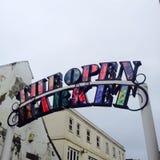 Brighton öppen marknad Royaltyfri Foto