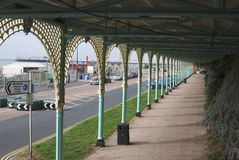 brighton östlig seafront sussex uk Royaltyfri Bild