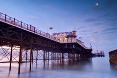 Brighton. Beach Pier at sunrise-Brighton,England royalty free stock photography