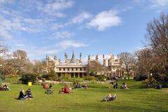 Brighton Angleterre - pavillon de Brighton. image stock