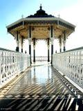 Brighton bandstand, Zjednoczone Królestwo zdjęcie stock