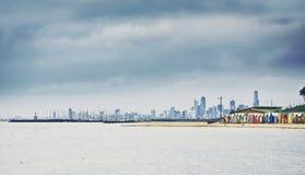 Brighton Bay Beachhouses photo stock