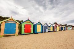 Brighton Bay Beachhouses photos libres de droits