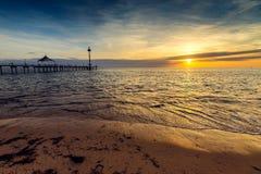 Brighton Beach, Australie du sud photos libres de droits