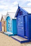 Brighton Beach Bathing Boxes Royalty Free Stock Photos
