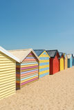 Brighton Beach Boxes, Melbourne, Australia Stock Image