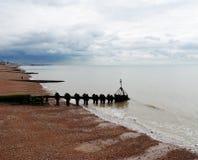 Brighton Beach . Royalty Free Stock Photography
