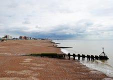 Brighton Beach . Royalty Free Stock Photos