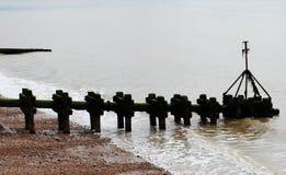 Brighton Beach . Stock Photo