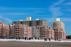 Brighton Beach, Brooklyn, New York Stock Photos